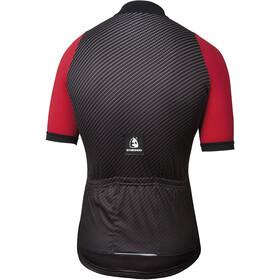 Etxeondo Carbono Kortærmet cykeltrøje Herrer, black/red